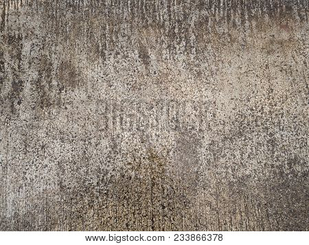 Old Grunge Texture Of Vintage Cement Concrete Background Wall.