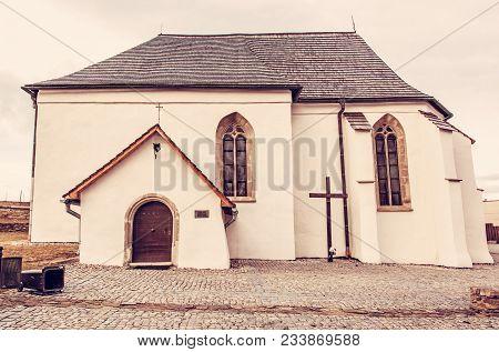 Roman Catholic Church Of St. Anna, Strazky, Slovak Republic. Religious Architecture. Travel Destinat