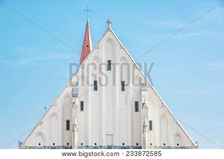 Detail Of St. Nicholas' Deanery Church, Znojmo, Czech Republic