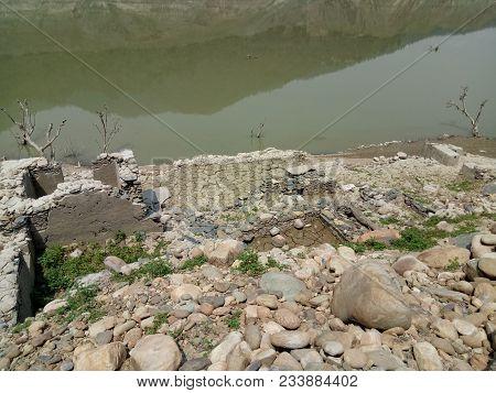 Tehri Dam In The Summer Of June Month