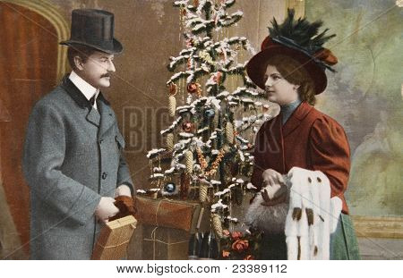 Vintage Victorian Christmas