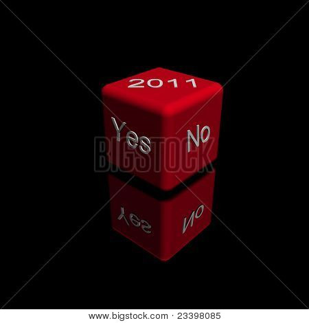 yes no dice 2011