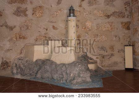 The Layout Of The Fortress. Castillo Del Morro. Havana. The Old Fortress Cuba