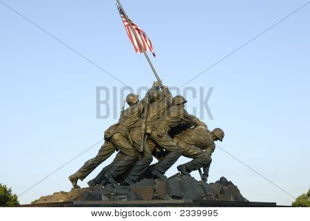 The Iwo Jima Memorial