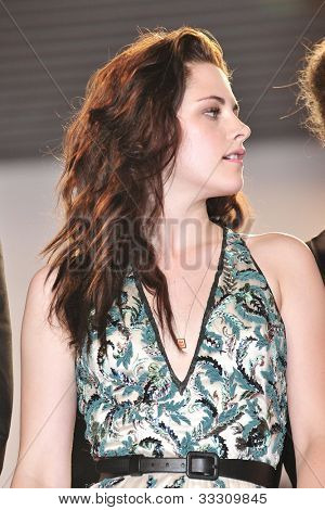 CANNES - MAY 23: Kristen Stewart at the premiere screening of 'On the Road' presented in competition at the 65th Cannes film festival on May 23, 2012 in Cannes