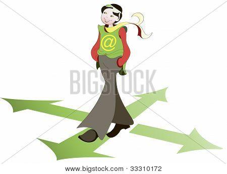 Girl - Pedestrian