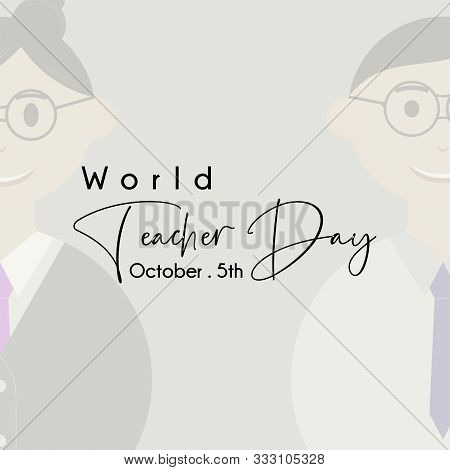 World Teacher Day With