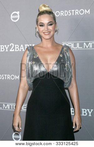 LOS ANGELES - NOV 9:  Katy Perry at the 2019 Baby2Baby Gala Presented By Paul Mitchell at 3Labs on November 9, 2019 in Culver City, CA