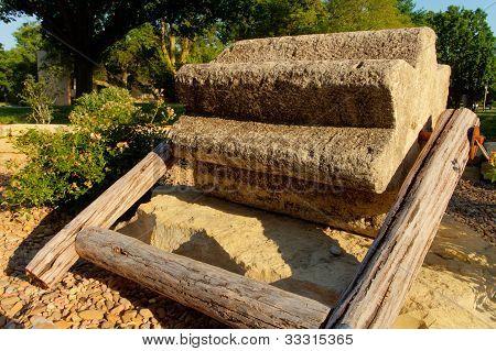 threshing stone