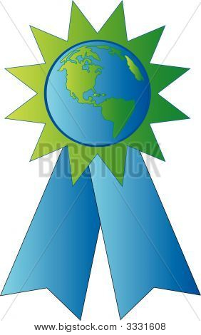 Ribbon Made With Earth