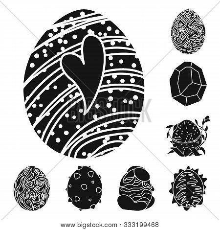 Vector Design Of Fantastic And Cute Logo. Set Of Fantastic And Magic Stock Vector Illustration.