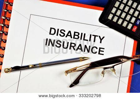 Disability Insurance-payment, Compensation For Damage To The Insured In Order To Compensate For Lost