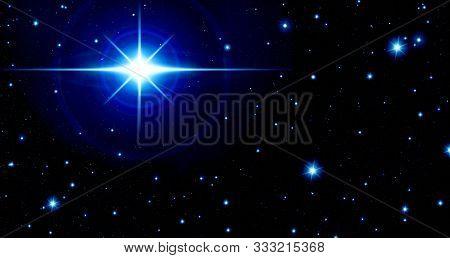 Art, Astrology, Astronomy, Background, Black, Blue, Bright Blue Star, Calendar, Constellation, Space