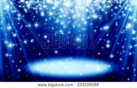 Abstract, Background, Birthday, Blue, Blue Holiday Background, Spot, Bokeh, Bright, Christmas, Circl