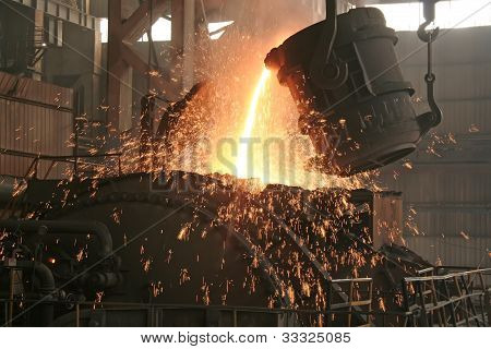 Steel Company Production Workshop