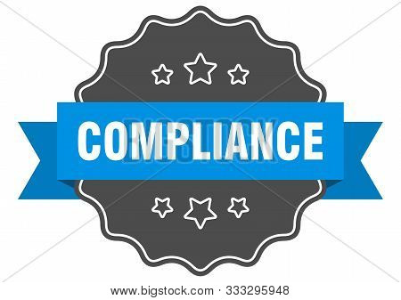 Compliance Blue Label. Compliance Isolated Seal. Compliance