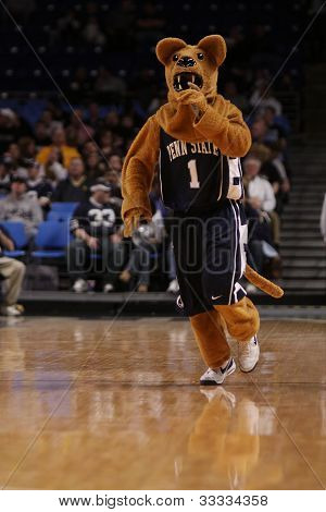 Penn State mascot the Nittany Lion