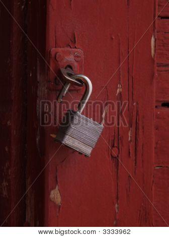 Open Pad Lock