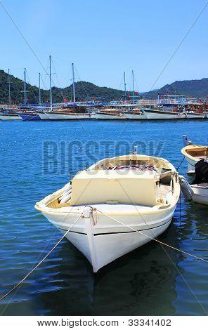 Boat And Yachts, Near Kekova Island, Turkey