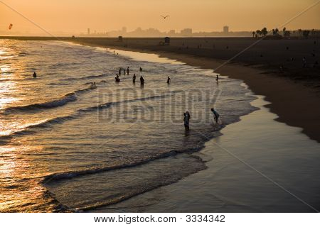 Seal Beach Sunset