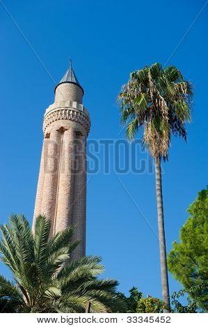 Yivli Mosque and minaret poster