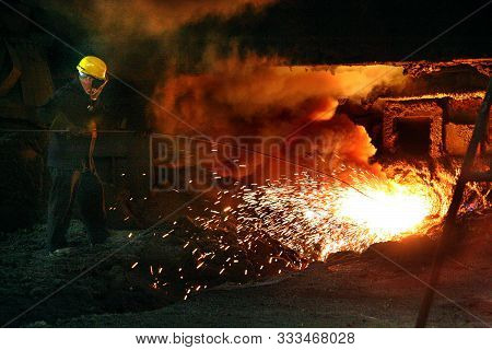 Blast Furnaces For Iron Making On Large Integrated Steelworks.