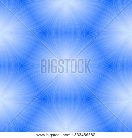 Heavenly Blue Abstract Soft Astral Seamless Pattern Design