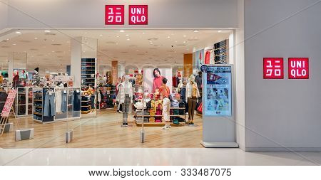 Bangkok, Thailand - November 10: Uniqlo, Japanese Casual Wear Retailer Retails Clothing In The Mall