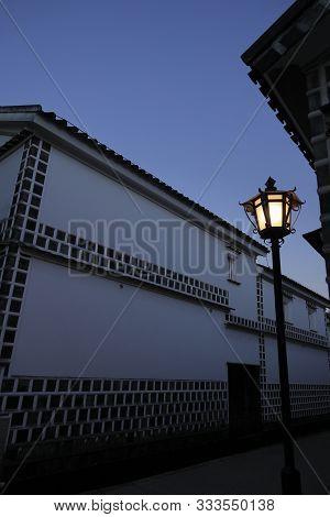 Kurashiki Bikan Historical Quarter In Okayama, Japan (morning Scene)