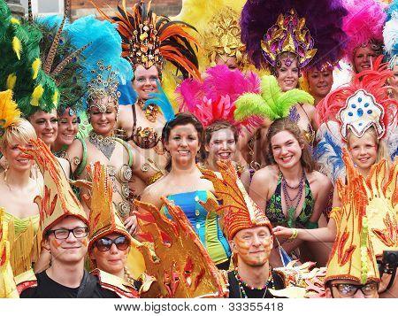 Participants At Copenhagen Carnival 2012