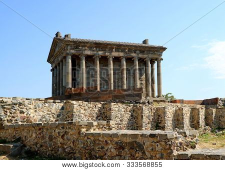 The Temple Of Garni, The Only Freestanding Greco-roman Structure In Armenia, Kotayk Province, Archae