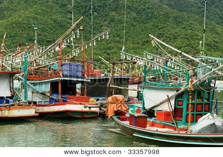 Fisching boats