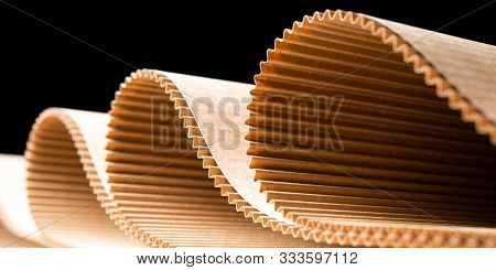 Paper Factory Process Texture Carton Industry Brown