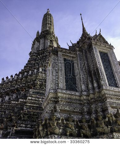 Arun Temple Bangkok Thailand