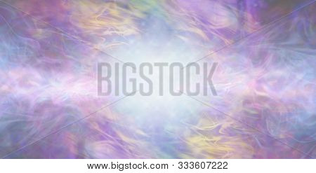 Beautiful Ethereal Special Occasion Multicoloured Background - Artistic Gaseous Flowing Background W