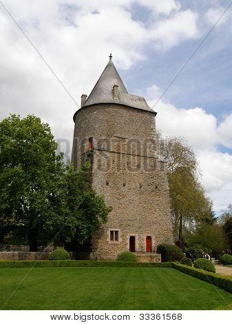 Josselin castle tower