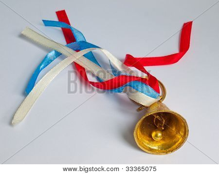 A Bell With A Ribbon
