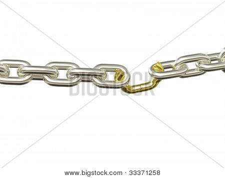 Weak Link - Silver And Gold