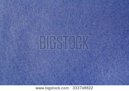 Fleecy Tissue Blue Color. The View From The Top. Space For Text