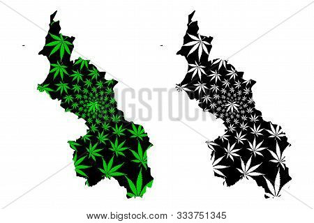 Sucre Department (colombia, Republic Of Colombia, Departments Of Colombia) Map Is Designed Cannabis
