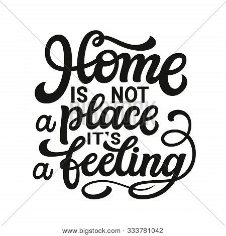 Home Typography Quote