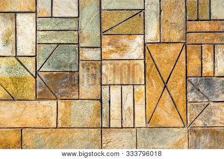 Background. Ornament Background. Geometric Background. Ancient Geometric Wall. Specific Background.