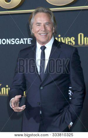 LOS ANGELES - NOV 14:  Don Johnson at the