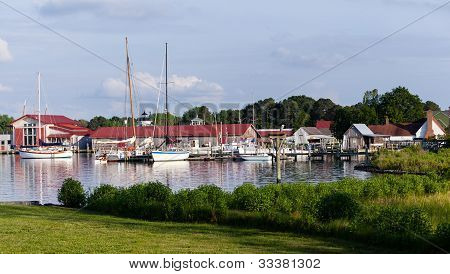 Harbor At St Michaels On Chesapeake Bay