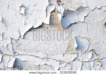 Wall Background. Grungy Wide Brickwall. Abstract Web Banner. Cop