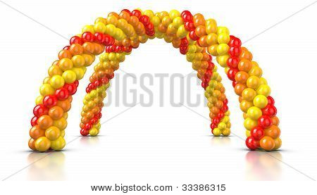 Double Arch Balloons