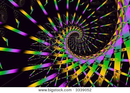 Mardis Gras Party Abstract