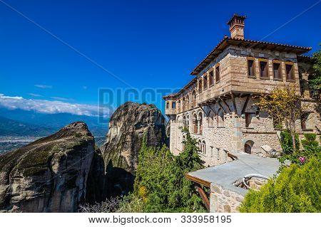 The Monastery Of Varlaam - Meteora, Greece, Europe