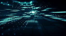 Abstract Technology  Big Data Background Concept.