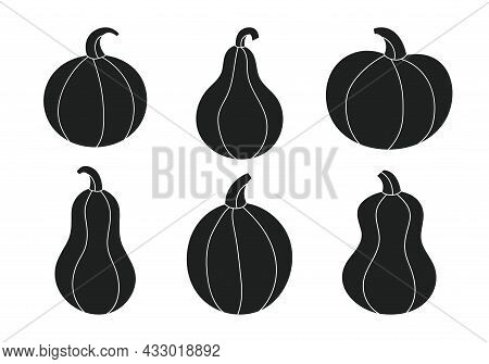Pumpkins Silhouette Cricut Cameo Sublimation. Cutting Board Template. Autumn Holiday. Thanksgiving H